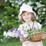 Little gardener Royalty Free Stock Image