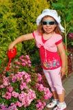 Little gardener Royalty Free Stock Image