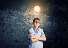Little genius Stock Images