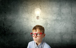 Little genius Royalty Free Stock Image