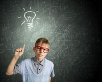 Little genius Royalty Free Stock Photo