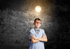 Little genius Stock Photo