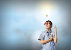 Little genius Royalty Free Stock Images