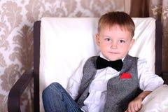 Little gentelman Stock Photo