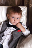 Little gentelman Stock Photography