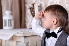 Little gentelman Royalty Free Stock Images