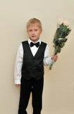 Little gentleman Stock Image