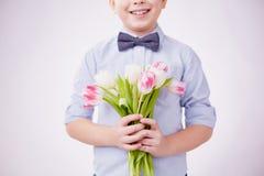 Little gentleman Stock Photos