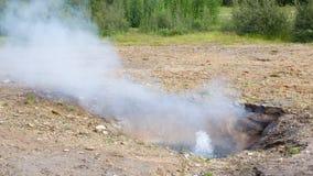 Little geyser - Iceland Stock Images