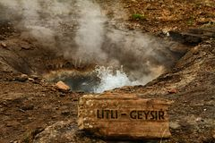 Little Geyser Royalty Free Stock Photo