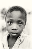 Little Ghanaian boy Stock Image