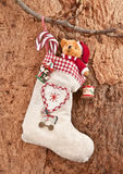 Little gift bag for christmas Stock Image