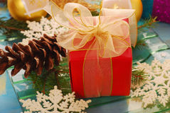 Little gift for christmas Stock Image