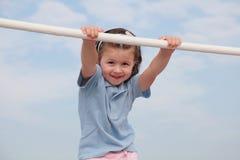 Little girl. Portrait of pretty little girl Royalty Free Stock Photo