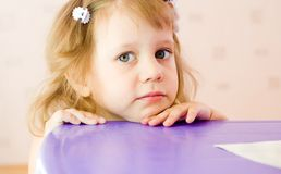 The little girl Royalty Free Stock Photos