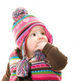 A little girl royalty free stock photos