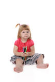 Little girl Stock Image