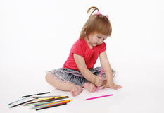 Little girl Stock Photography