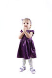 Little girl with Royalty Free Stock Photos
