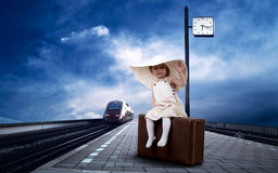 Free Little Girl Stock Image - 19424711