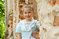 Little girl. Royalty Free Stock Photo