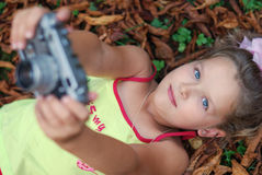 The little girl Royalty Free Stock Photography