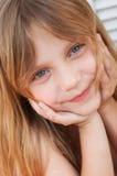 Little girl. Portrait of a happy little girl Stock Photos