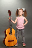 The little girl Stock Photography