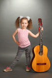 The little girl Royalty Free Stock Photo