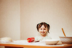 Little girl. Stock Photos