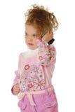 The little girl Stock Image