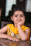 Little girl. In east indian clothes Stock Photography
