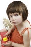 Little girl. Girls portrait Stock Images