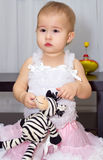 Little girl. Royalty Free Stock Photography