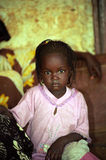 Little girl, Aleg, Mauritania Royalty Free Stock Photo