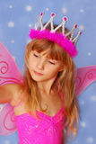 Little girl as fairy Stock Photos