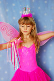 Little girl as fairy Stock Photography