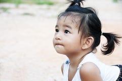Little Girl. A Little Asian girl in the garden Royalty Free Stock Image