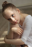 Little Girl Ballerina Royalty Free Stock Photography