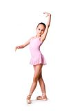Little girl ballerina Stock Photos