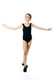 Little girl ballerina, Royalty Free Stock Photos