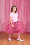Little girl ballerina Royalty Free Stock Images