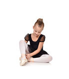 Little girl ballerina Royalty Free Stock Image