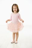 Little girl in ballet dress Royalty Free Stock Photography
