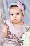 Little girl with a balloon Royalty Free Stock Photo