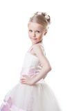 Little girl in beautiful dress Royalty Free Stock Image