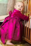 Little girl in a beautiful dress Royalty Free Stock Photo