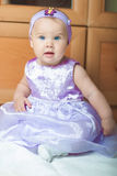 Little girl in a beautiful dress Royalty Free Stock Photography