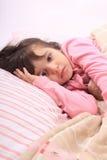 Little girl bedtime Royalty Free Stock Photo