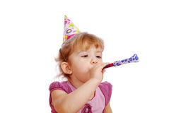 Little girl birthday party Royalty Free Stock Photography